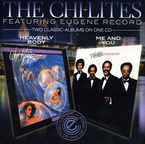 The Chi-Lites - Heavenly Body / Me & You [New CD] UK - Import