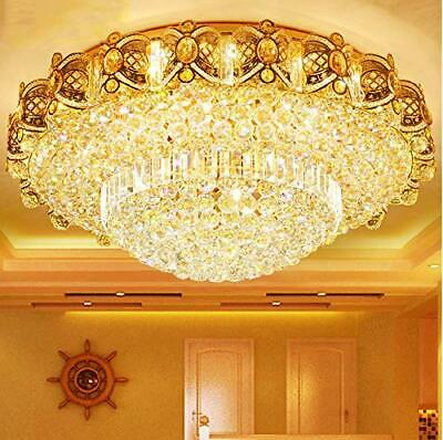 Modern K9 Crystal LED Light Flush Mount Ceiling Fixtures Lig