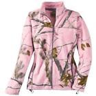 Womens Camo Fleece Jacket