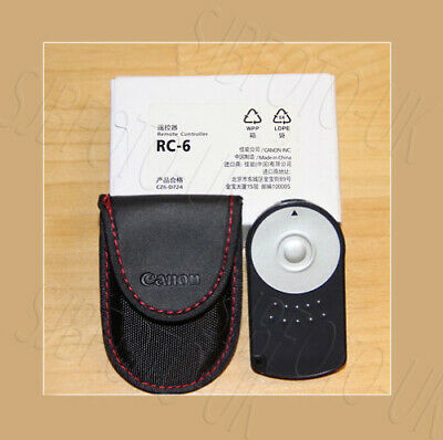 RC-6 Infrared Remote Control for Canon Mirrorless EOS M6, M5, M3, and M Cameras