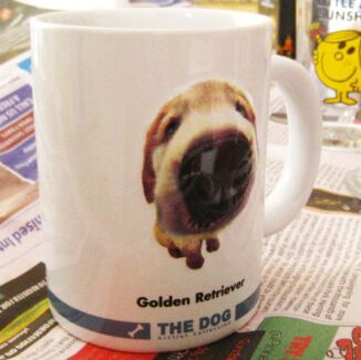 BNIB THE DOG Artlist Collection 3D Golden Retriever Coffee Mug Epping Ryde Area Preview