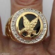 Gold Eagle Ring