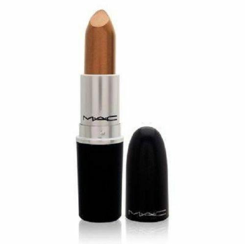 Mac ~ Glasur Lippenstift ~ Shag ~ Neu mit Karton Kupfer Braun ~ Eingestellt Tief