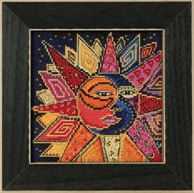 10% Off Mill Hill/Laurel Burch X-stitch/Bead Kit - Sun and Moon - Sun And Moon Craft Kits