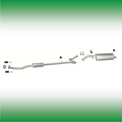 Auspuff Citroen C4 1.6 16V 80KW Auspuffanlage Mitteltopf Endtopf