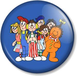 Raggy-Dolls-25mm-Pin-Button-Badge-Old-School-Skool-Cartoon-Retro-Kids-TV-1980s