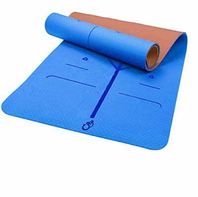 Yogamatte, TPE, ECO Gymnastik Matte, Übungsmatten, rutschfest,