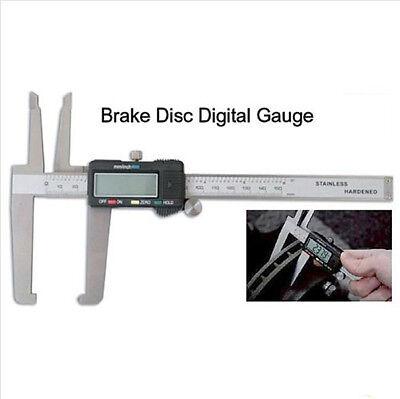 Digital Micrometer Disc Brake Gauge Rotor SAE Metric Hardened 0.0005 + Spare bat