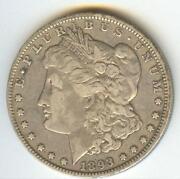 1893 O Morgan Dollar