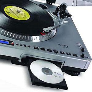 WE TRANSFER/CONVERT VINYL RECORD 33RPM & 45RPM TO CD ALBUM