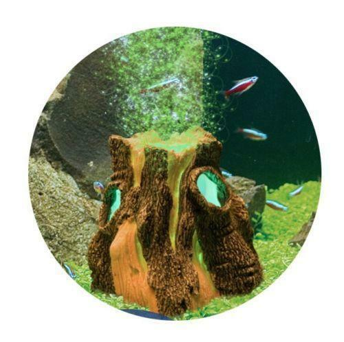 H2show lost civilizations - лес (декорация для правого угла аквариума)