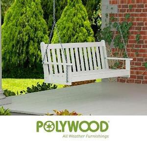 "NEW POLYWOOD 60"" SWING WHITE - 119428603"