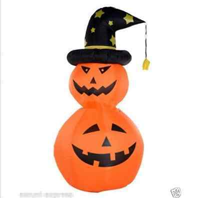 Halloween Decoration Inflatable Pumpkin For Halloween With Blower 3m My