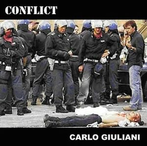 CONFLICT-Carlo-Giuliani-enhanced-DVD-anarcho-punk-rock-Mortarhate-2003-CD-S