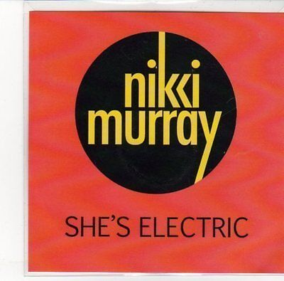 (DN126) Nikki Murray, She's Electric - 2012 DJ CD