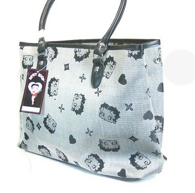 Betty Boop Carry Bag - Gray