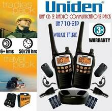 NEW Uniden UH710-2TP 1W UHF CB Handheld Radio - Two Radio Pack Chipping Norton Liverpool Area Preview