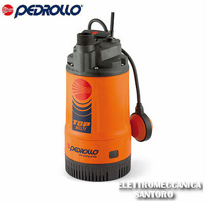 Electric Pump Submerged Top Multi 2 HP 0,75 Volt 220 Pedrollo Water Clear