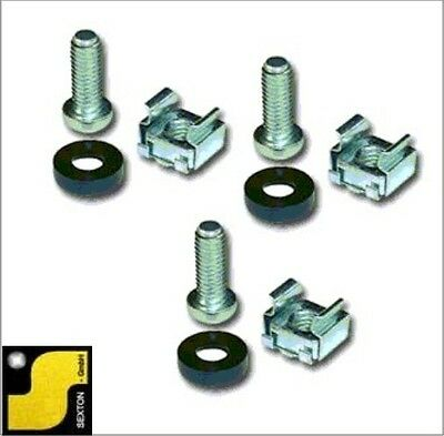 "Rack Montageschrauben - Rack mounting screws 20 Pack - 48,3cm ( 19 Zoll 19"" )"