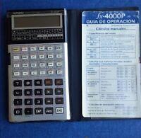 Calculadora Cientifica Programable Casio Fx-4000p Vintage Retro - casio - ebay.es