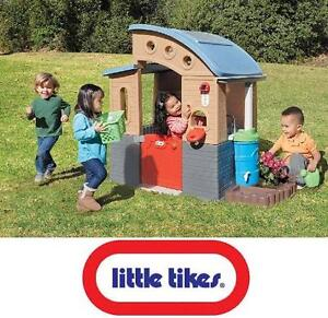 NEW LITTLE TIKES PLAYHOUSE GO GREEN PLAYHOUSE-ECO FRIENDLY LEARNING TOY 106534434