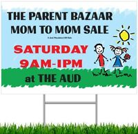 HUGE SPRING MOM TO MOM SALE - Book Your Tables!