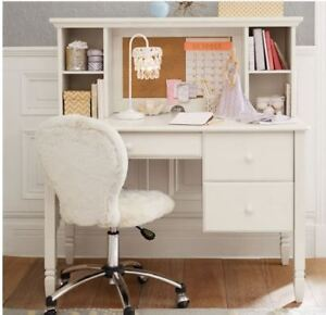 Pottery Barn Kids Madeline Storage Desk and Hutch.