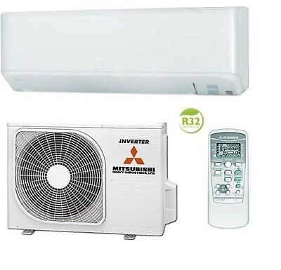 Mitsubishi Air Conditioning 2.5kW, 3.5kW, 4.5kW Heat Pump Wall Mounted Air Con