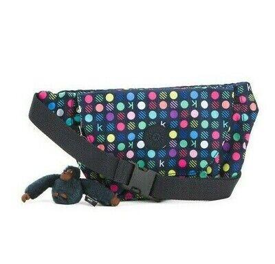 KIPLING ARVIN Belt Bag Fanny Pack Waist Pouch Multi Dots  Nwt