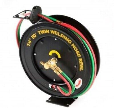 14 X 50 Automatic Rewind Welding Hose Reel Oxygen Acetylene King