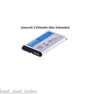 SEIDIO 1350mah Innocell Extended Slim Battery For Blackbe...