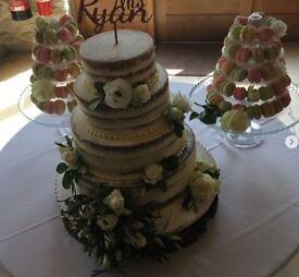 Macaron Wedding Cake Stand