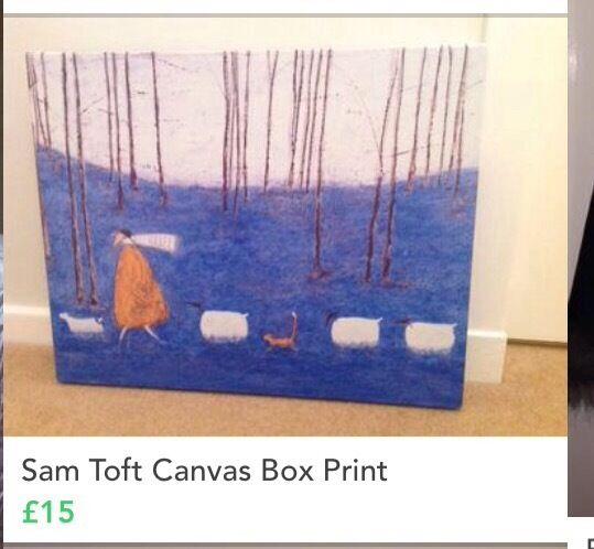 sam toft canvas paintings