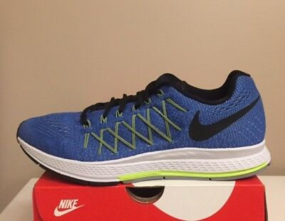 Nike Men's Zoom Pegasus 31 Running Blue Volt 654924 400 Size 10 Wide  DEADSTOCK