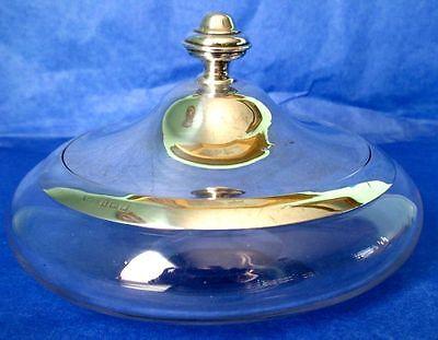 Albert Cohen   Co  Antique Art Deco Large Powder Jar
