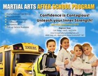 Martial Arts After School Program!