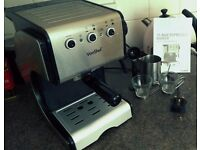 VonShef 1050W 15 Pump Espresso Maker / Coffee Machine (Including cups and manual)
