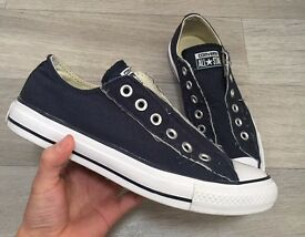 Converse Slip On Trainers - Navy Blue UK 5
