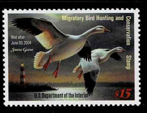 Single    Face Value Duck Stamps RW 70