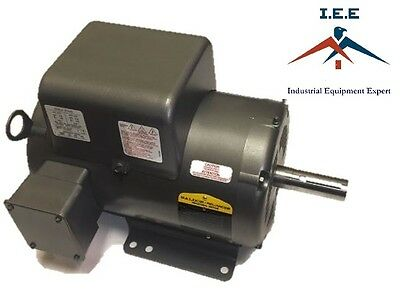 5 Hp Single Phase Baldor Electric Compressor Motor 184t Frame L1430t 230 Volt