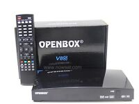 Open box V8S all sky channels movies sports Asian 1 year subscription