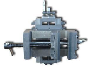 5Inch Wide Cross Slide Drill Press ViseMetal Milling 211028