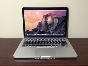 "MacBook Pro 13"" Retina Core i5, OSX High Sierra, 90 Day Warranty"