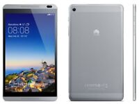 "8"" Unlocked Huawei MediaPad M1 Android Tablet - WiFi & Cellular (4G)"