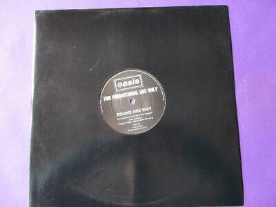 "OASIS Round Are Way PROMO 12"" ORIGINAL 1995 CTP 215 one sided Creation indie comprar usado  Enviando para Brazil"