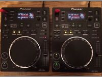 Pioneer CDJ 350 x 2 in immaculate condition