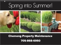 Spring and Summer Yard and Lawn Maintenance