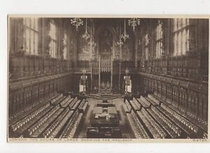 London House Of Lords Vintage Postcard 121a
