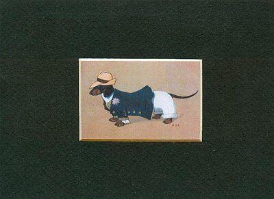 *** Dachshund Boy - German Dog Art Print - CLEARANCE, used for sale  Tampa
