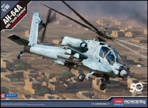 ACADEMY 1/35 AH64A ANG South Carolina Attack Helicopter ACD12129